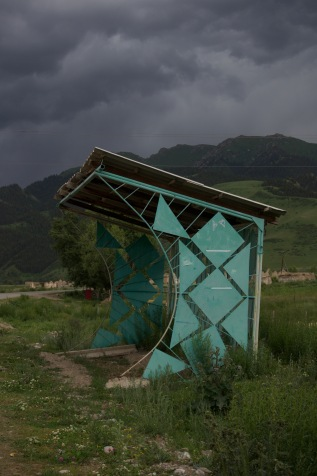 Central Asian Bus Stop Project